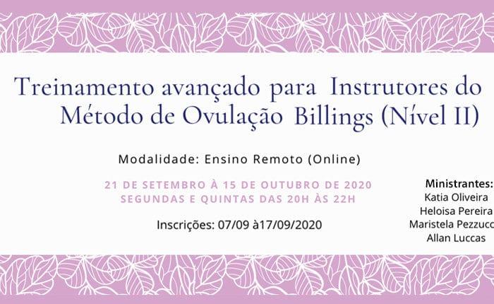 Protegido: Treinamento Avançado Para Instrutores do Método de Ovulação Billings (Nível II)